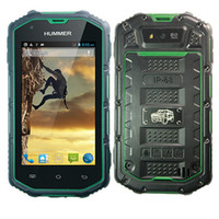 Bar h5 phone - Hummer H5 MTK6572 G Smartphone Dual core GHZ Android quot IP67 Waterproof Shockproof Dustproof GPS Wifi WCDMA Android Cell Phone