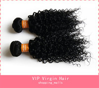 Cheap Discount Natural Color Malaysian Remy Hair Weaves Human Hair Weft Curly Hair Extensions Kinky Curly Hair Weave Virgin Curly Hair Extensions
