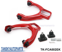 Wholesale Tansky Adjustable Front Upper Control Arm Camber Kit For Honda EK JDM Powdered Style Red TK FCA002EK