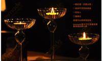 Crystal crystal candle holder - 2014 New Crystal Candle Holders Candlestick Pillar Holder For mm Candles Home Decor