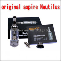 Cheap Replaceable Aspire Nautilus atomizer Best 5.0ml Glass asipire dual coil tank