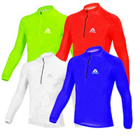 Wholesale 2014 new Bicycle Cycling Jersey Men Riding Breathable Jacket Cycle Clothing Bike Long Sleeve Summer Coat Colors