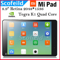Under $100 Sanei 7 inch Xiaomi MiPad Mi Pad NVIDIA Tegra K1 Quad Core 2.2GHz 7.9 Inch Retina Screen 2048*1536 Android Tablet PC 2G RAM 16G ROM Android 4.4 DHL Free