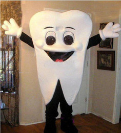 New Custom made High quality Teeth tooth mascot costume size adult costume parties free shipping