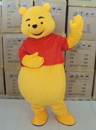 Wholesale Mascot Costume Winnie The Pooh Cartoon Clothing Adult Size Bear