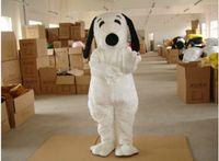 Costumes EMS Livraison gratuite adulte Apparel Cartoon Snoopy Puppy Mascot Costumes animaux de caractères Mascot Performance Apparel Novelty