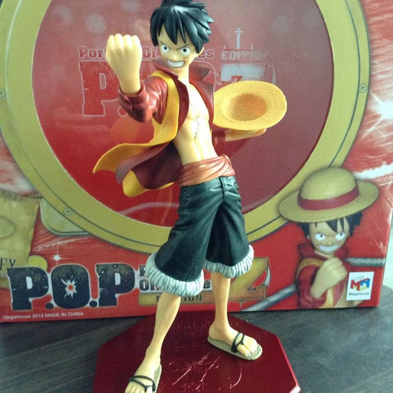 Buy Anime One Piece Edition Film Z Monkey D Luffy POP PVC Action Figure Collection Toy 25cm