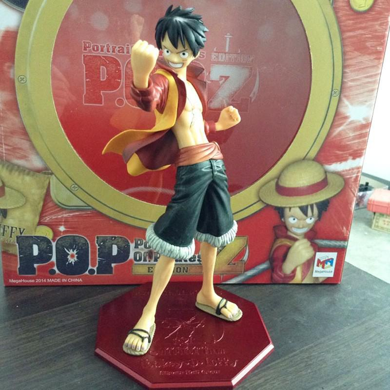Buy 2014 Anime One Piece Edition Film Z Monkey D Luffy POP PVC Action Figure Collection Toy 25cm