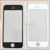Cheap Front Outer Glass Lens LCD Touch Screen Cover Replacement for iphone 4 4S 5 5S 5C