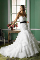 2015 New Designs Elegant Sweetheart Mermaid Wedding Dresses ...