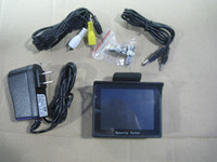 Wholesale LLFA2263 quot TFT LCD Monitor CCTV Security Camera Video Test Tester V OUTPUT