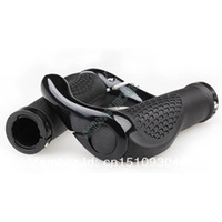 bicycle handlebar grips - Black Bike Handlebar Bicycles Cycling Lock On Handlebar Grips Bar Ends A2