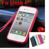 For iphone 4 Cover TPU Soft Back Cover Case with Credit Card...