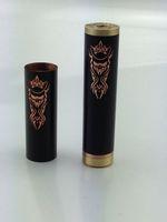 Cheap Akuma red copper black mech mod full mechanical mod clone e cig vaporizer pen ecig VS stingray king v2 panzer pegasus cartel transformer DHL