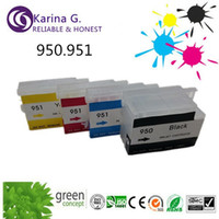 empty ink cartridges - 4X Chiped empty Refillable ink Cartridges for HP for hp Officejet hp officejet hp
