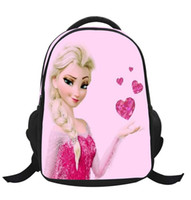 Wholesale 2014 new frozen school bag backpacks kids bags frozen schoolbag cartoon kids backpack children girls boys gifts schoolbag princess bag