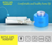 Wholesale 4 colour USB Bottle Caps Portable Mini Water Humidifier Aroma Air Diffuser Mist Maker