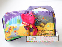 Wholesale OP Portable stereo cloth book in English Lamaze How Do I Feel boy girl cloth book cloth book educational toys styles