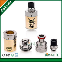 Wholesale cat atomizer Alibaba express newest rebuildable atomizer RDA atomizer cat atomizer with factory price huge vapor high quality Fast delivery