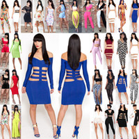 Wholesale 2014 New More Style Dress Women Summer Sexy A Serise of KM Dresses Stretchy Cocktail Celebrity Evening Club Party Bobycon Bandgae Fashion
