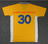 2014 Cheap Throwback #30 Yellow Basketball Jersey, Customized...
