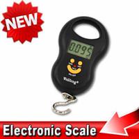 Cheap Pocket Portable Digital 50kg 10g Luggage Hanging Fishing Fish Hook Balance Scale Electronic lb oz kg Jin weighing