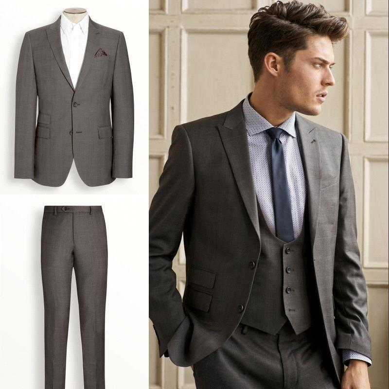 Groom Tuxedos Tailor Suits Tux Cheap Bridegroom Morning
