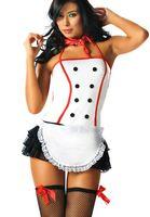 Cheap European Filipino maid Women's transparent sexy lingerie uniform costumes bellyband sleepwear dance skirts Cosplay game clothing