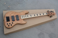 6 string bass guitar - belief14 Slim Matte six string electric bass wood color can be customized to change Electric Guitar