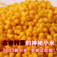 Wholesale Shanxi mysterious ancient village farmhouse new golden millet millet organic grains over pounds shipping