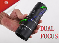 Cheap Wholesale-OP-Dual Focus!Monocular Lenses Compact Hunting Telescope Golf Scope 16x52 Brasil Optical Binoculars with non-IR HAVE NO DUST COVER
