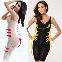 Cheap 2014 High quality elastic body shaper waist training corset slimming underwear Magnet therapy sexy bodysuit women plug sizeXXXL