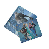Wholesale Cartoon Frozen princess laptop mouse pad coumputer mouse mat