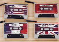 Pencil Bag bag cassette - New The cassette zero purse bag key package coins dandys