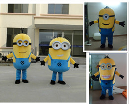 Wholesale Despicable me minion mascot costume for adults despicable me mascot costume