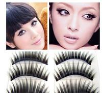 Wholesale Eyelashes Pair Thick Long natural false eyelashes Eyelash Eye Lashes Voluminous Makeup