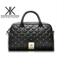 quilted handbags - 2014 new kardashian kollection Rivet Messenger Bag Quilted handbag shoulder handbag