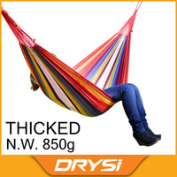Wholesale OP Outdoor Canvas Camping hanging bed chair indoor strap swing Outdoor hammock for camping beach hunting