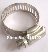 Wholesale 16 mm Stainless Steel Hose Clip Pipe Tube Clamp