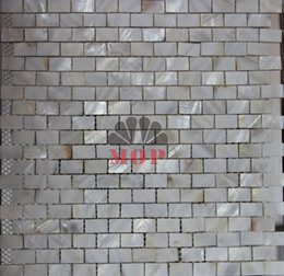 Wholesale home improvement freshwater shell mosaic tile mother of pearl pure white natural floor mosaics tiles background wall