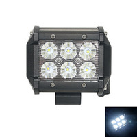 used boats - 18W Flood K CREE LED Double lines work light Bar DIY used in Car Boat Auto headlight