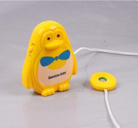 Cheap Wholesale-OP-Lovely Baby Bedwetting Enuresis Urine Bed Wetting Alarm +Sensor