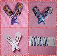 Wholesale 2015 Snow and Ice Hairpins Fashion Frozen Hair Clips Girls Hair Accessories Mixed Clamps Queen Girls Lovely Ornament BB Baby Hair