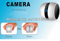 Cheap Wholesale-OP-For IOS Android Smart Phone cheap Wireless Googo security Camera Digital WiFi Video Camera baby monitor Free shipping
