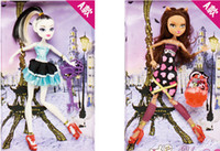 Wholesale 1pieces MONSTER HIGH School zombie Ghost girl doll active joints dolls Factory Sales High quality Toys