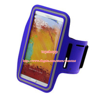 Cheap High Quality WaterProof Sport Gym Running Armband Protector Soft Pouch Case Cover For samsung galaxy NOTE 3 2 N7100 N9000 Sale