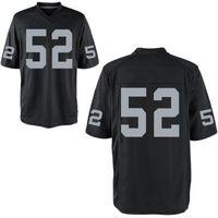 Men football jerseys - Football Jerseys Mack Black American Football Elite Jersey Stitched Authentic Game Limited Jersey