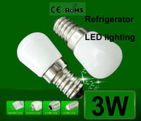 Wholesale Brand New E14 W Refrigerator LED lighting mini bulb AC220V V Bright indoor lamp light for Fridge Freezer