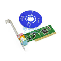 Wholesale PC Channel MIDI GAME port D Audio PCI Sound Card Dual Type F DMA Support Retail