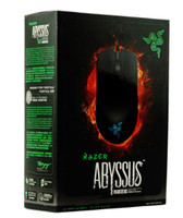 Wholesale Razer Abyssus Competitive game Mouse Grinding sand DPI G razer synapes both hands Usb mice Boxed In stock